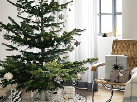 Étendard produits de Noël