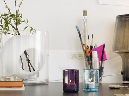 Muuto - Vase Four, blanc opale
