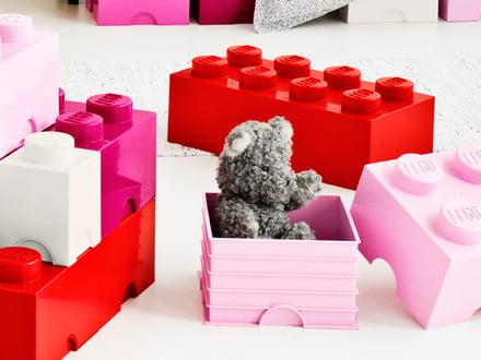 Brique de rangement de Lego