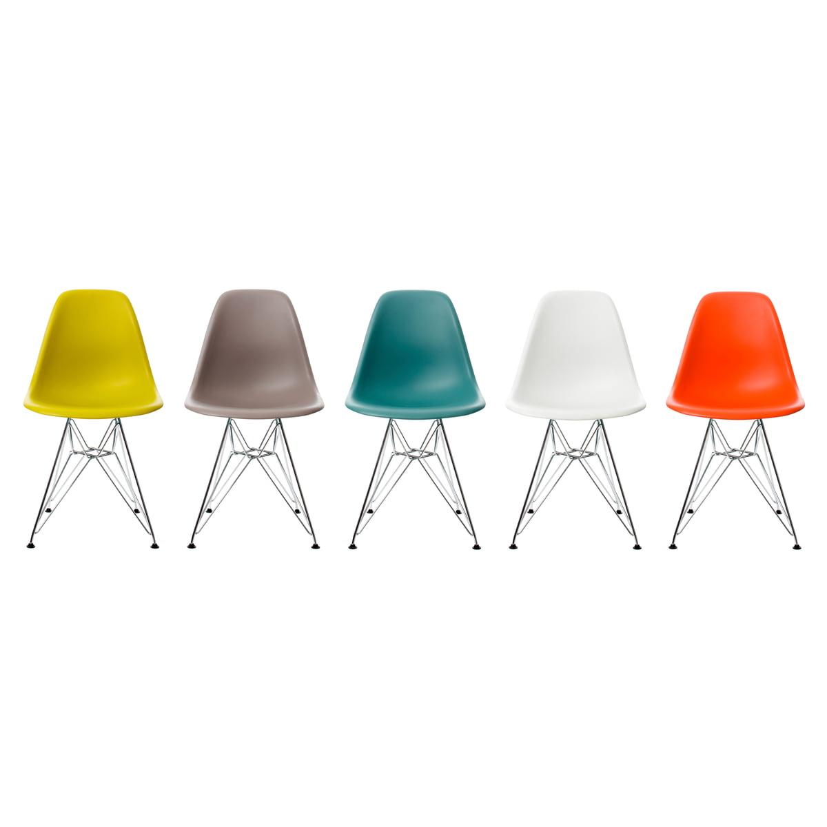 vitra dsr eames plastic side chair. Black Bedroom Furniture Sets. Home Design Ideas