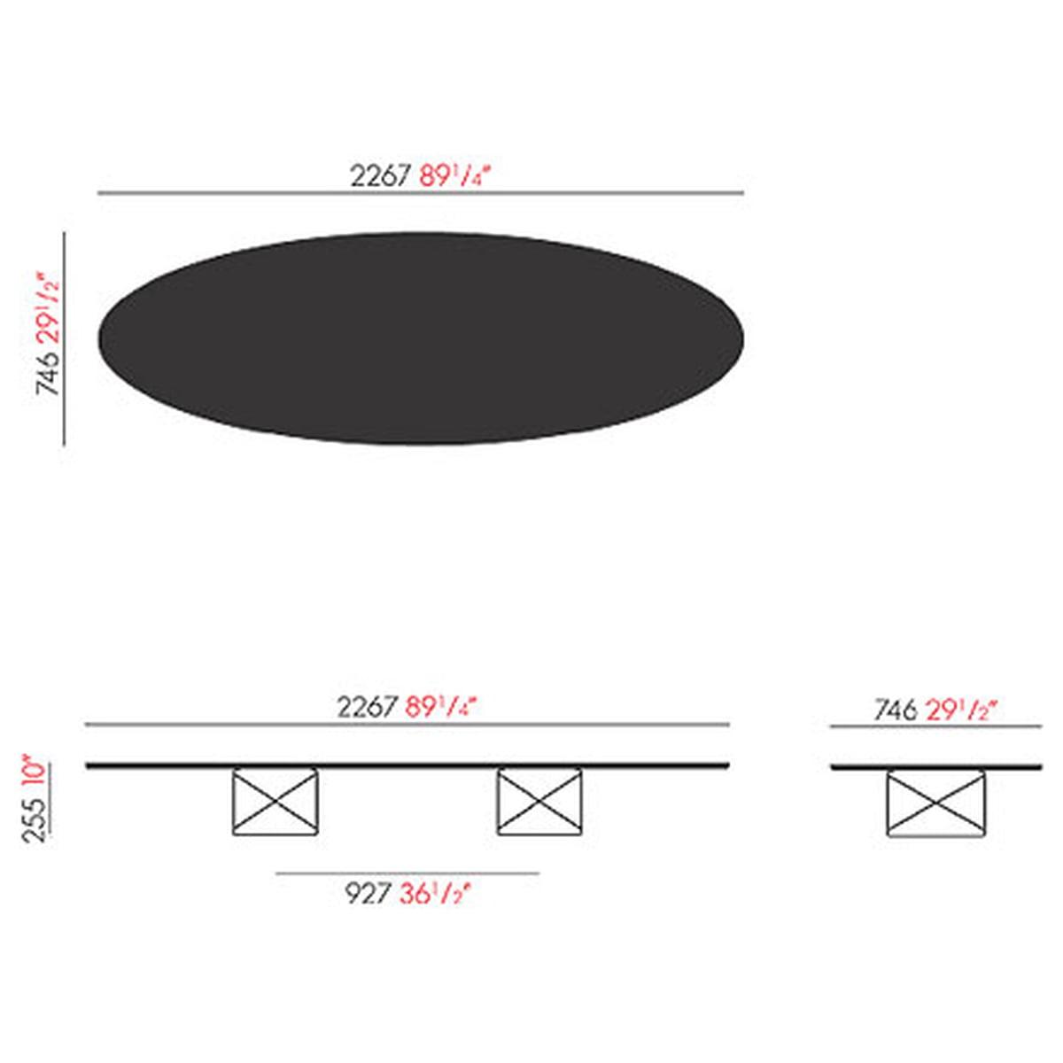 tableau elliptique etr vitra boutique. Black Bedroom Furniture Sets. Home Design Ideas