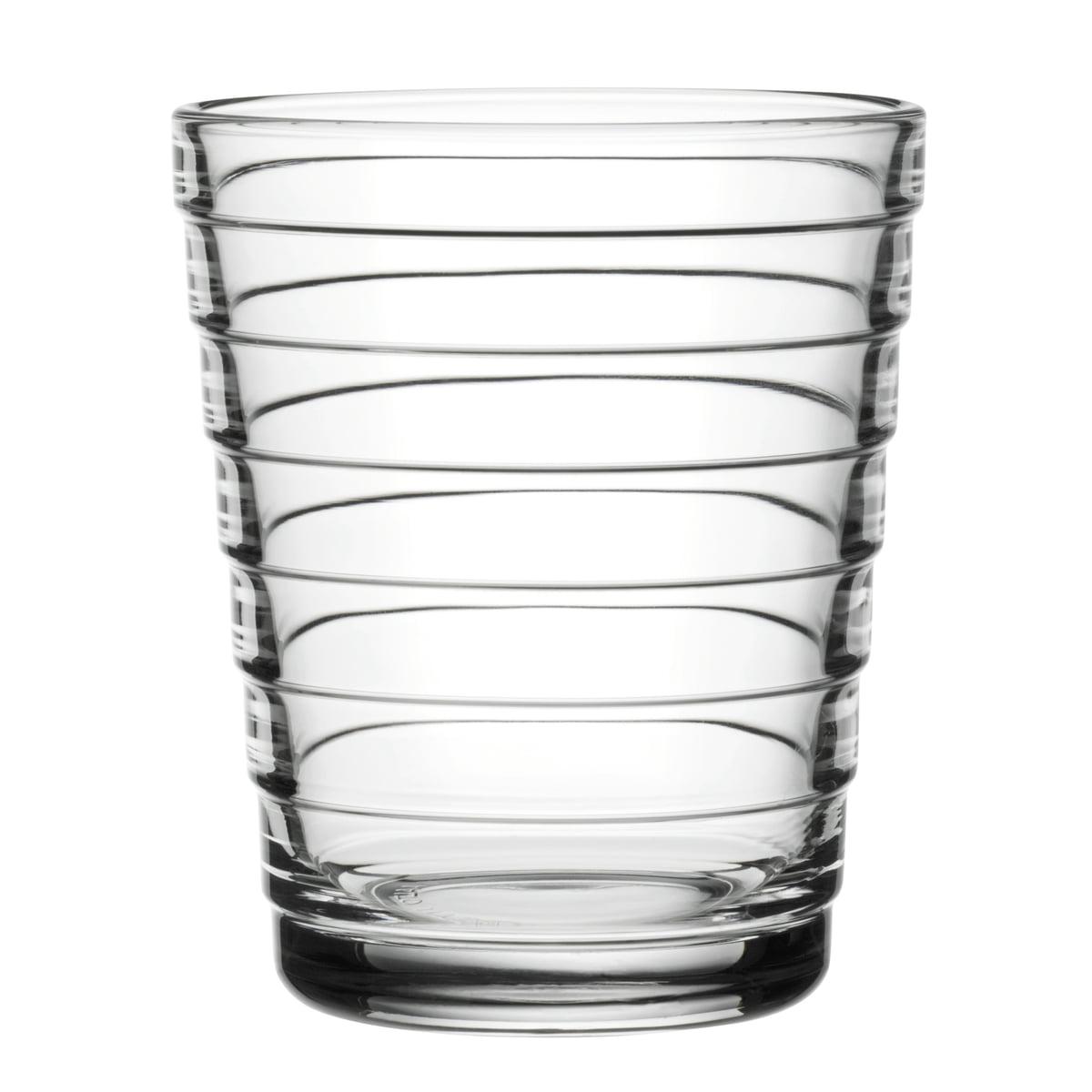 f418089013 Bécher en verre Aino Aalto 22 cl d'Iittala en clair