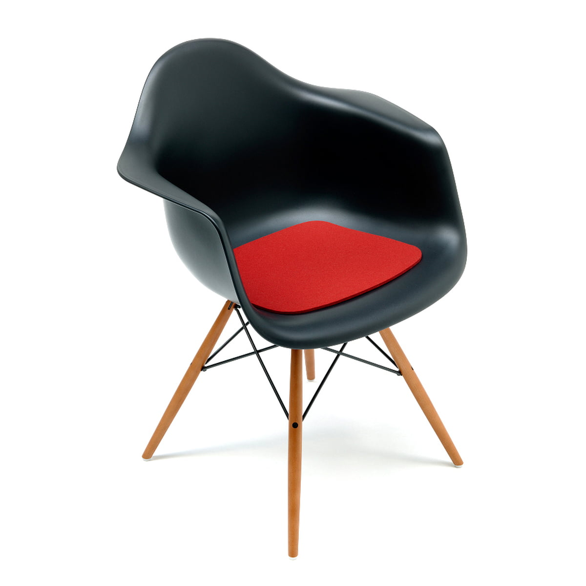 Hey sign coussin eames plastic armchair for Siege eames vitra