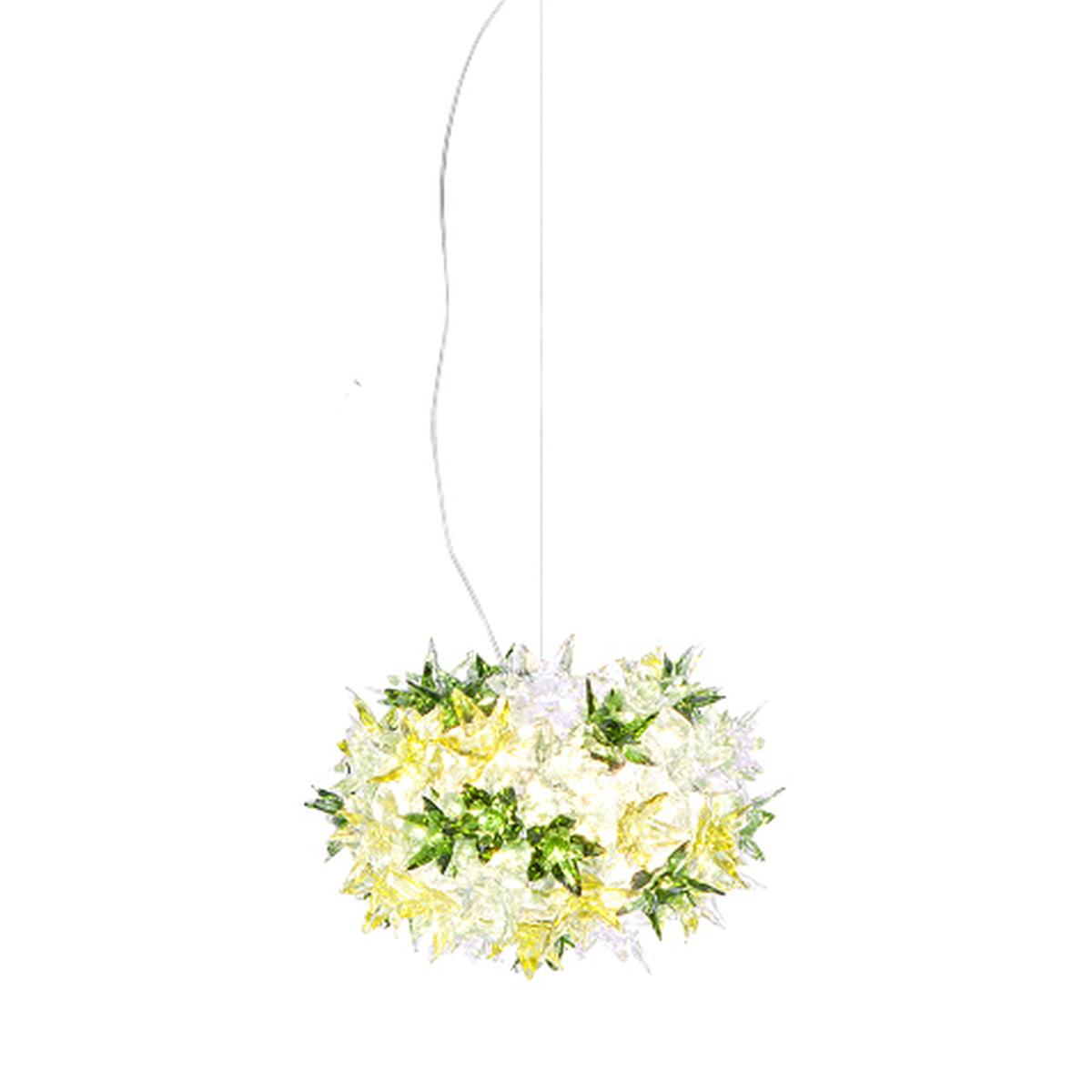 Kartell Suspension lumineuse Bloom S2, vert menthe