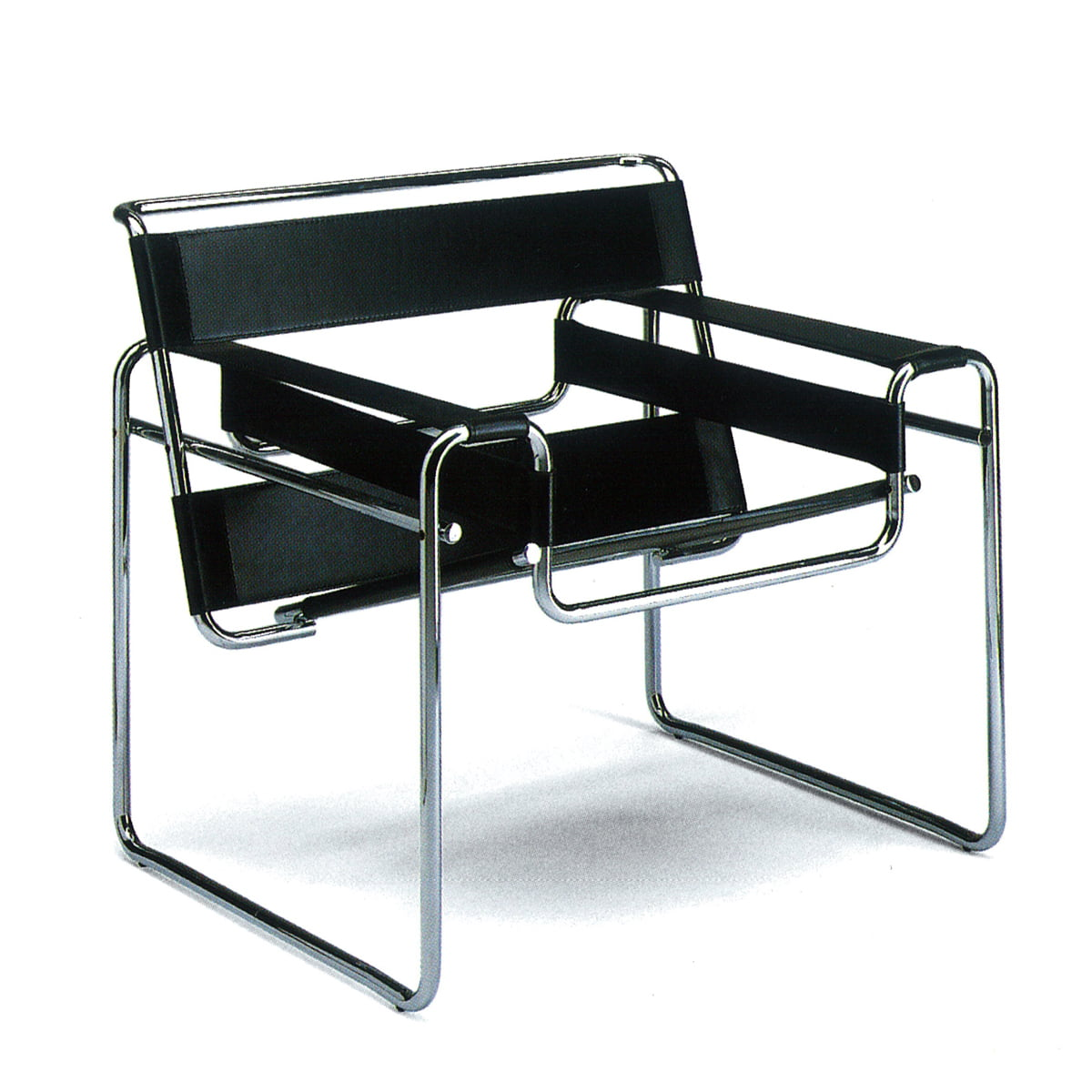chaise wassily marcel breuer knoll. Black Bedroom Furniture Sets. Home Design Ideas