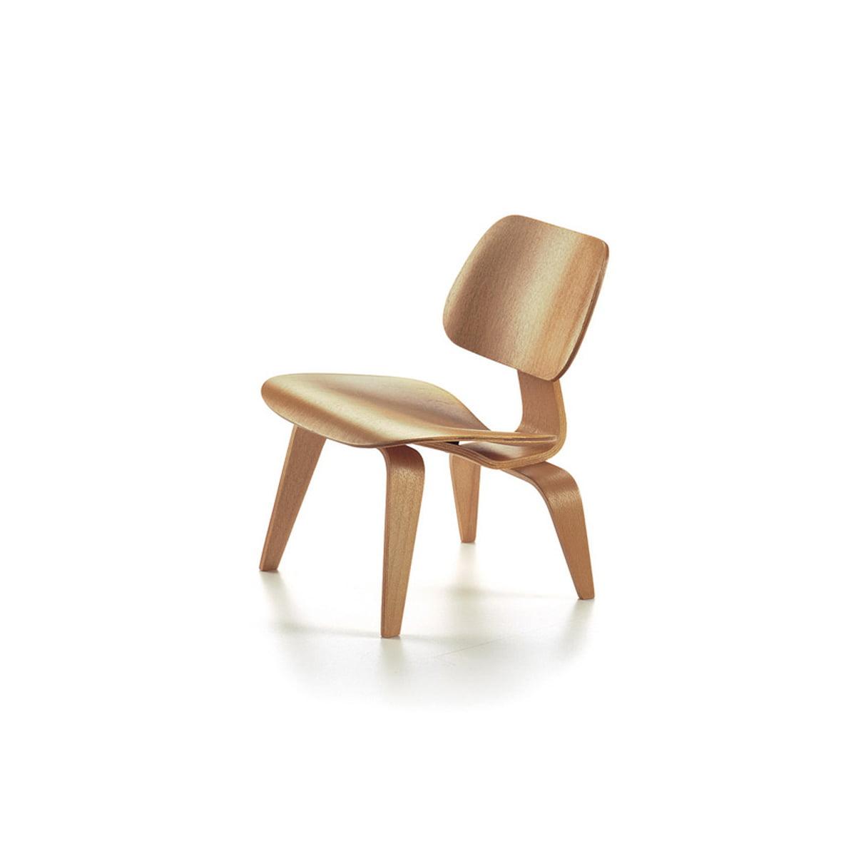 Vitra - Chaise Eames LCW miniature