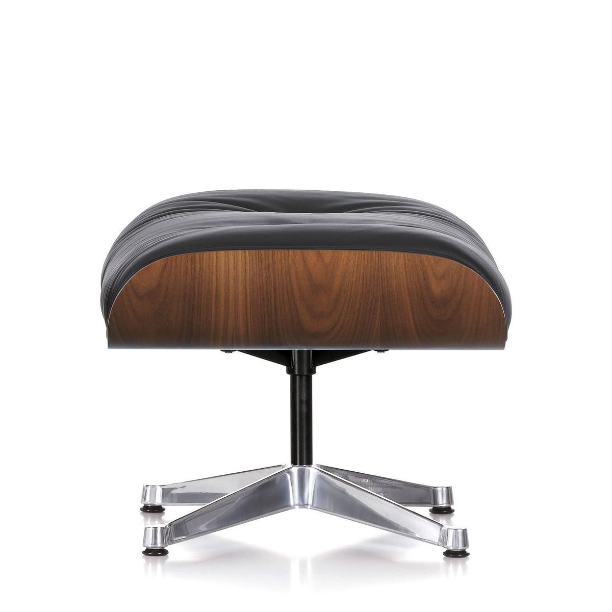Vitra ottoman pour lounge chair for Vitra lounge chair nachbau