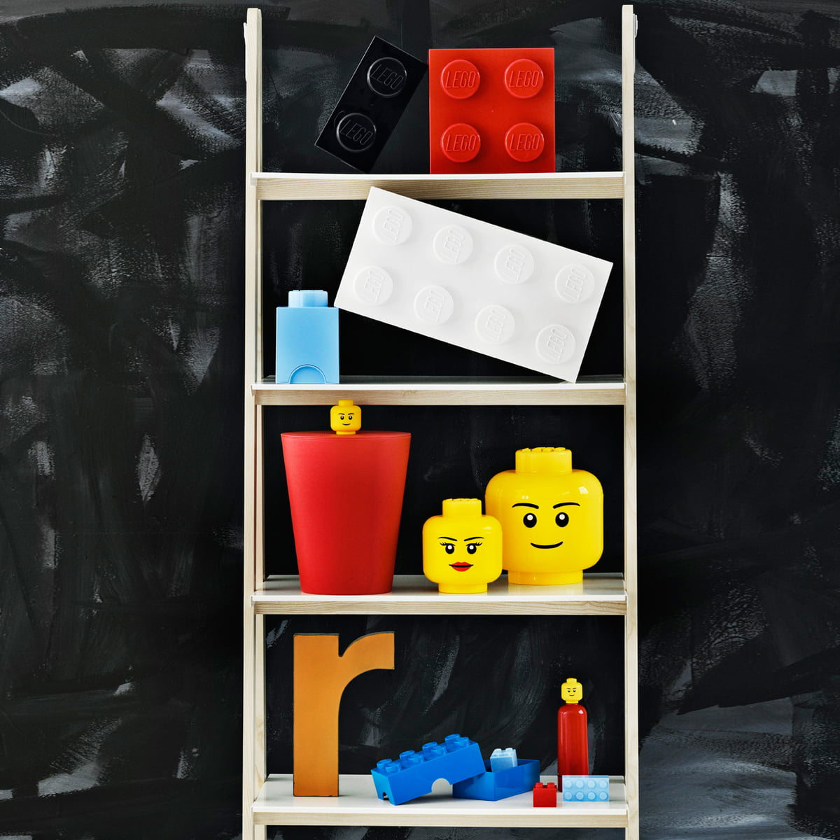 Storage brick 4 lego for Brick meuble francais