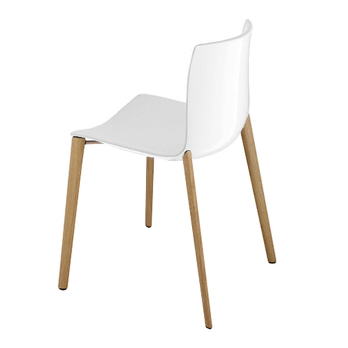 Quatre Pieds Chaises la chaise catifa 46 piètement bois 4 pieds