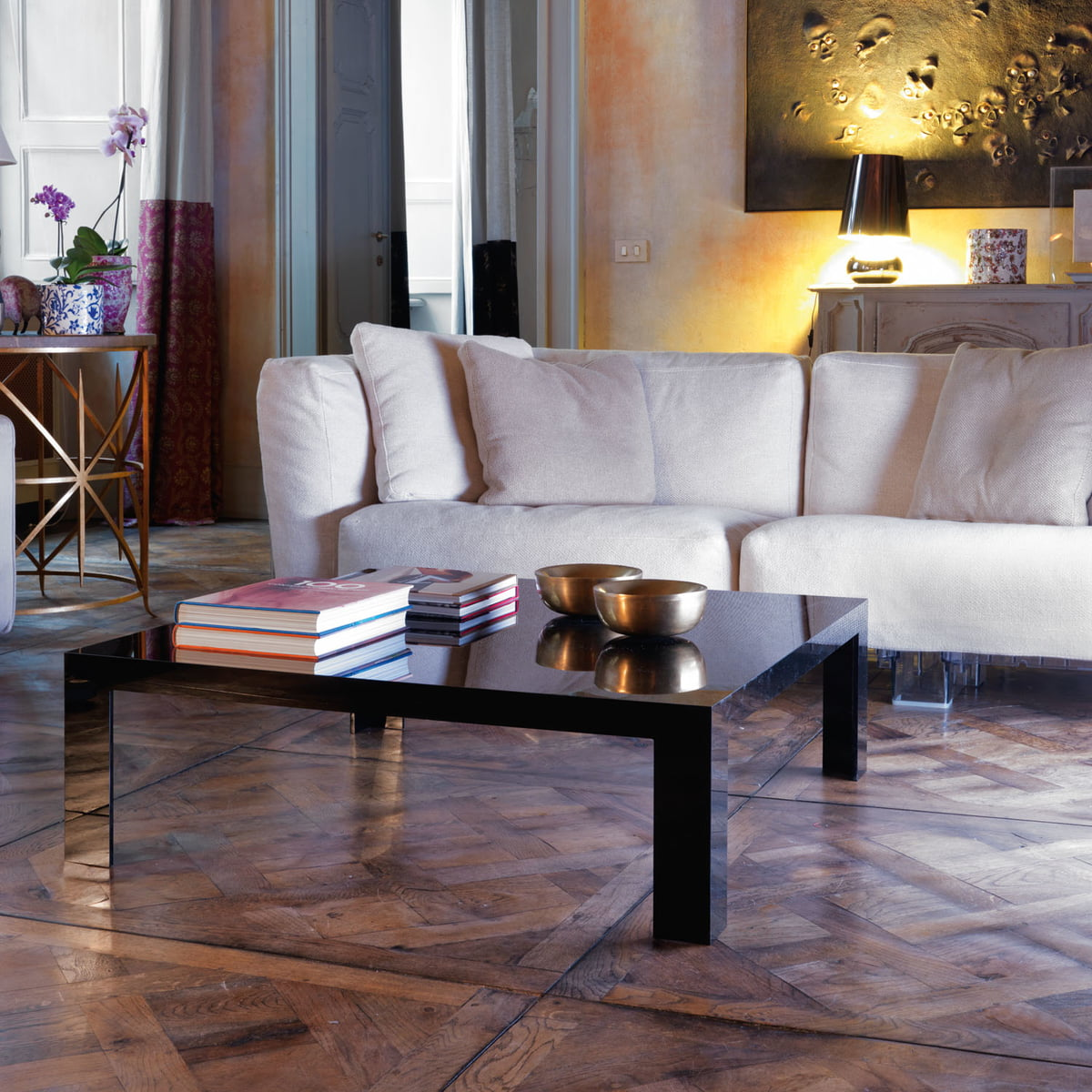 Kartell Table Invisible H 31 5 Cm Transparent