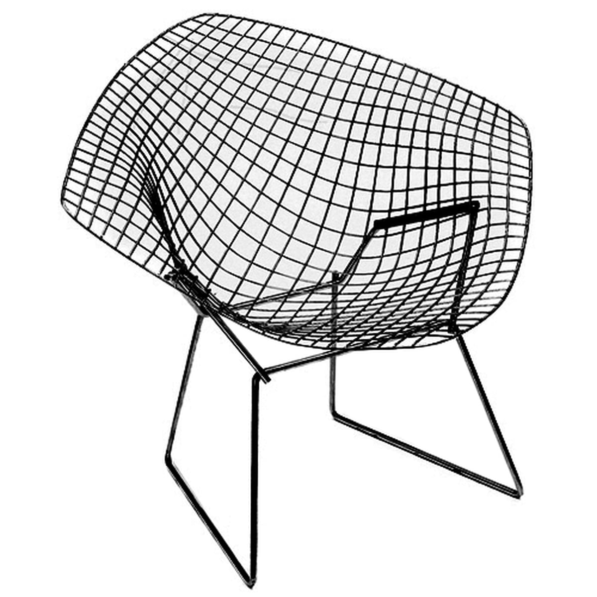 fauteuil bertoia diamond outdoor knoll. Black Bedroom Furniture Sets. Home Design Ideas