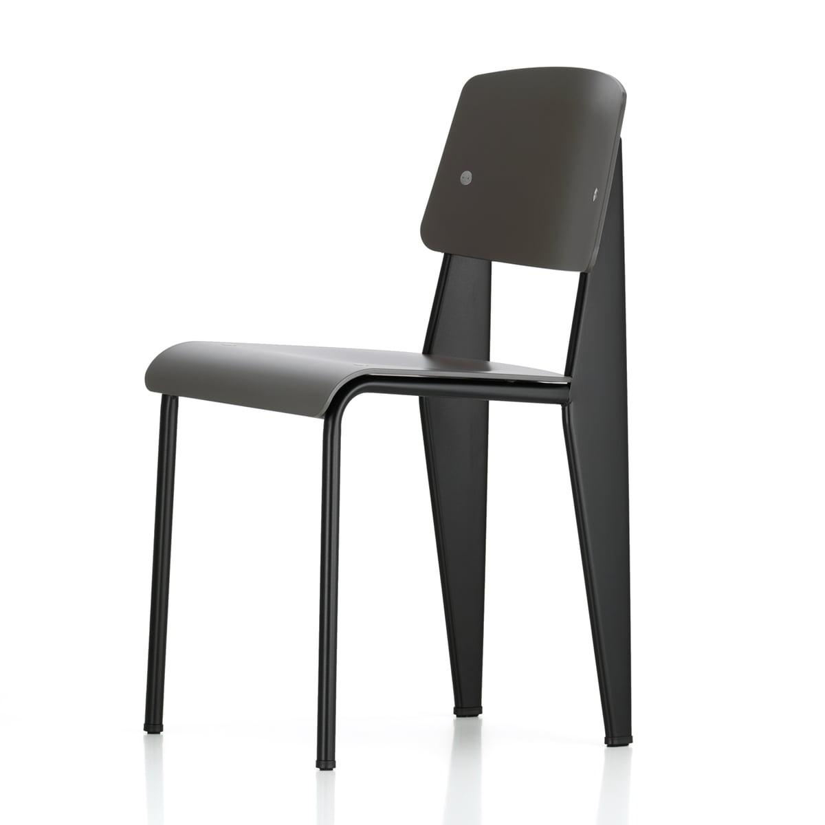 prouv standard sp chair par vitra. Black Bedroom Furniture Sets. Home Design Ideas