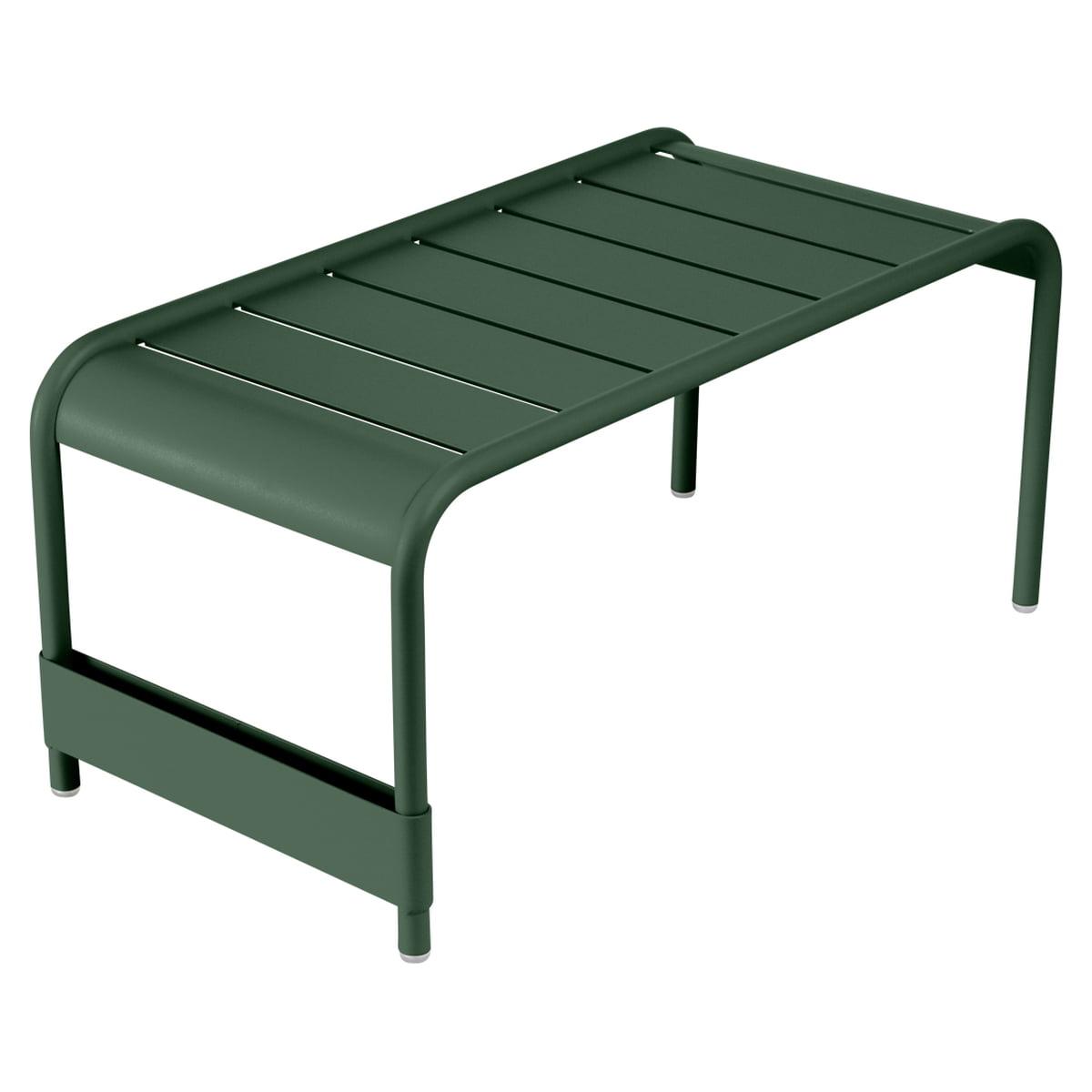Table banc de jardin luxembourg de fermob - Table de jardin fermob soldes ...