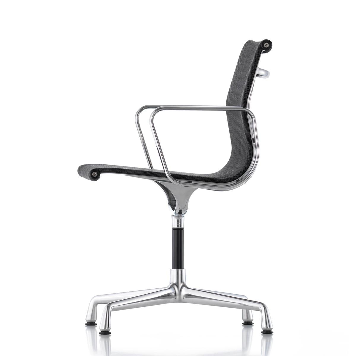 Aluminium group ea 104 chaise pivotante vitra for Chaise de bureau vitra prix