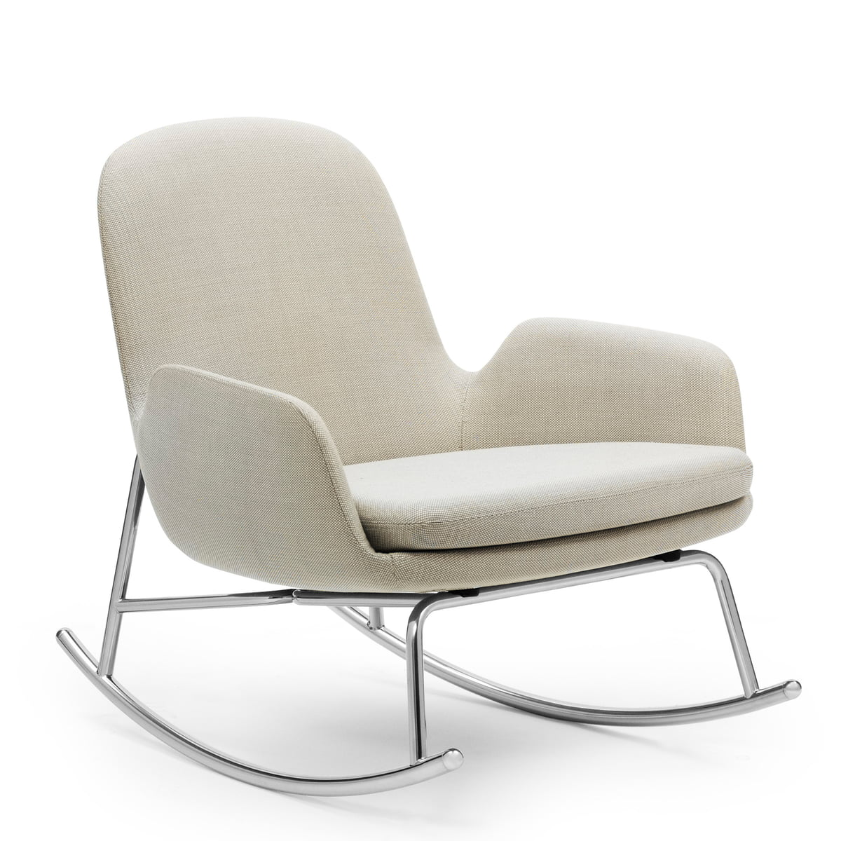 Fauteuil era rocking chair low de normann copenhagen for Rocking chair schaukelstuhl