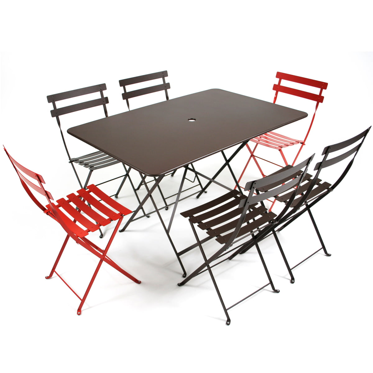 table pliante bistro de fermob connox. Black Bedroom Furniture Sets. Home Design Ideas