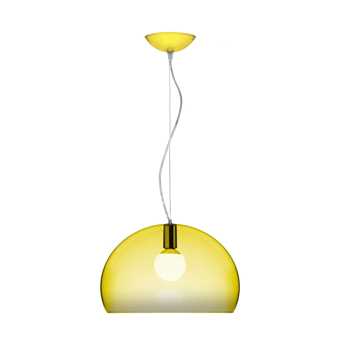 Fl y suspension lumineuse kartell for Suspension lumineuse
