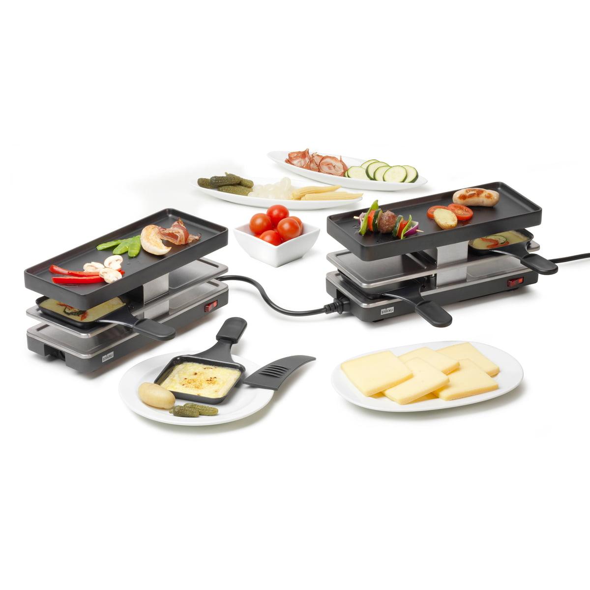 set à raclette twinboard de stöckli | connox