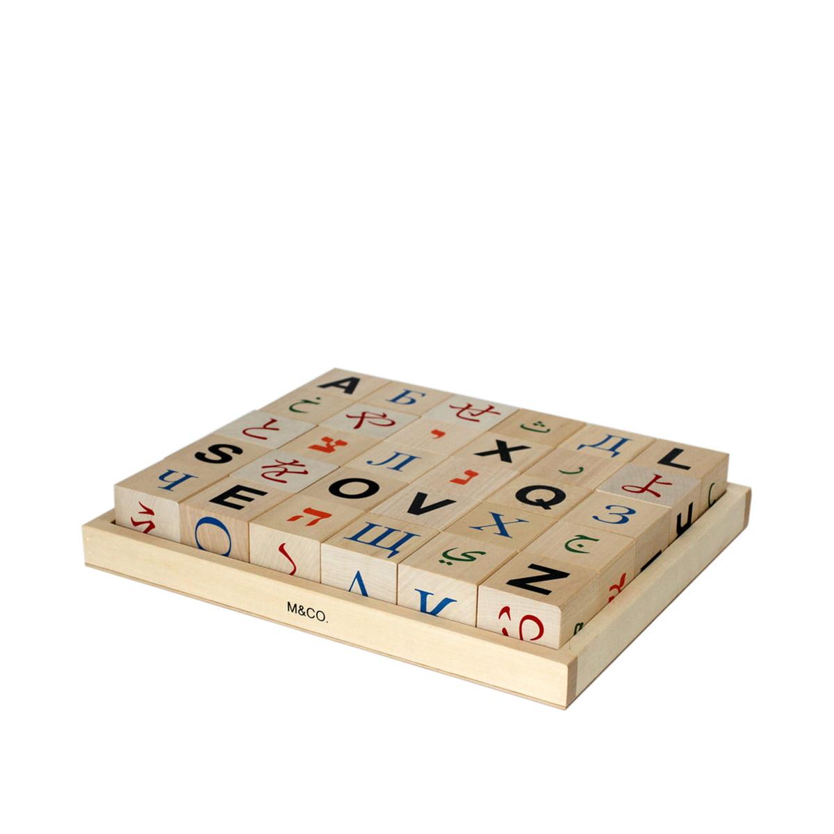 global alphabet blocks de klein more. Black Bedroom Furniture Sets. Home Design Ideas