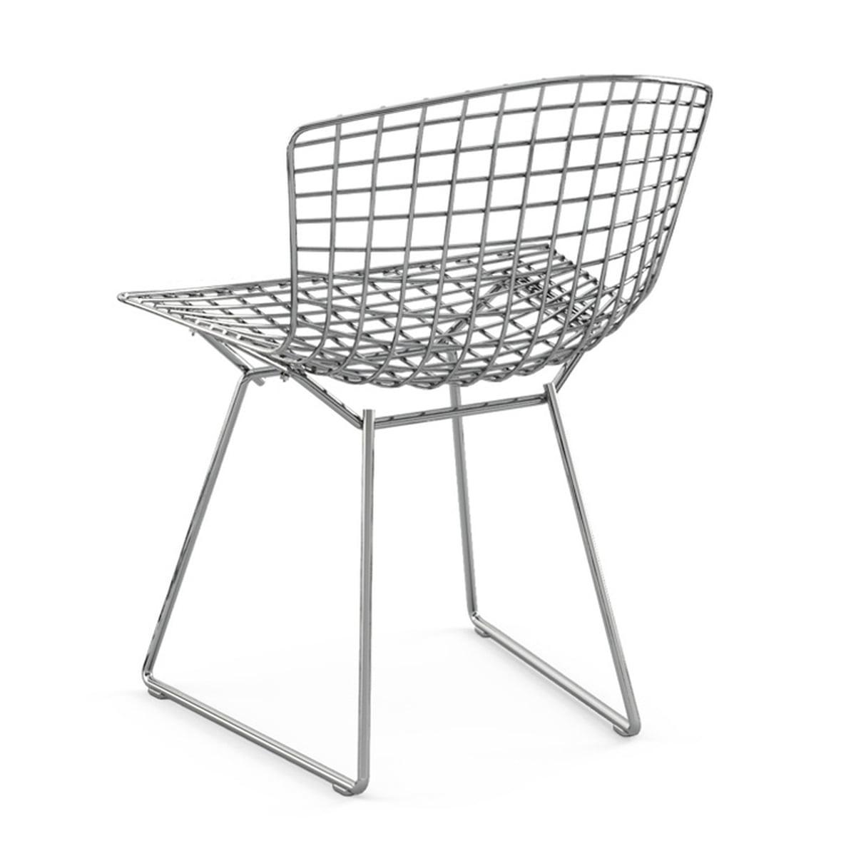 bertoia chaise en fil d acier knoll. Black Bedroom Furniture Sets. Home Design Ideas
