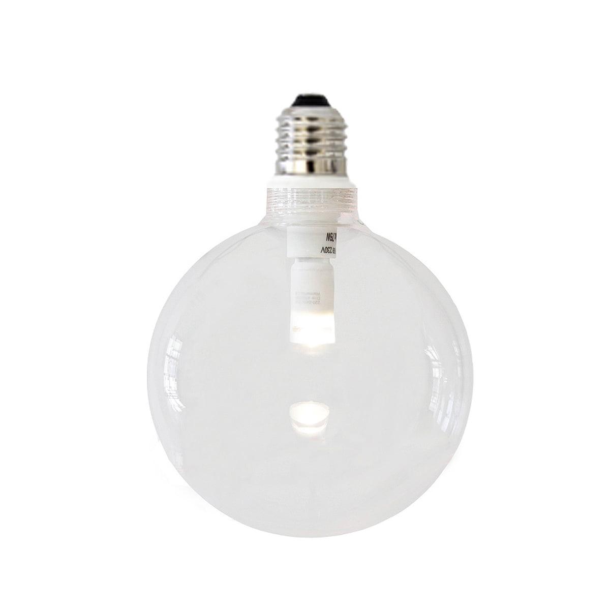 ampoule led dimmable au verre transparent de nud collection. Black Bedroom Furniture Sets. Home Design Ideas