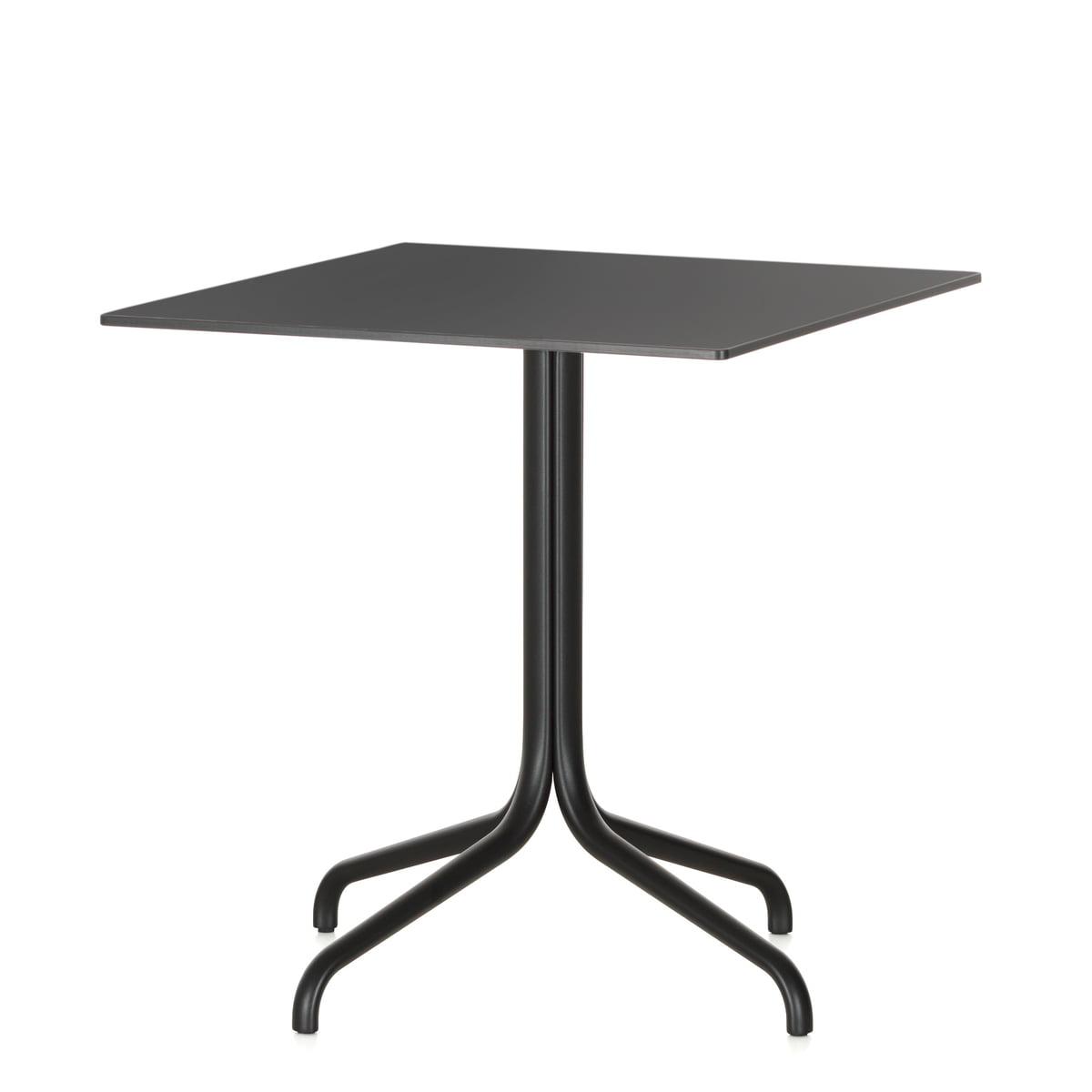 Table de bistrot outdoor belleville vitra - Table de bistrot carree ...