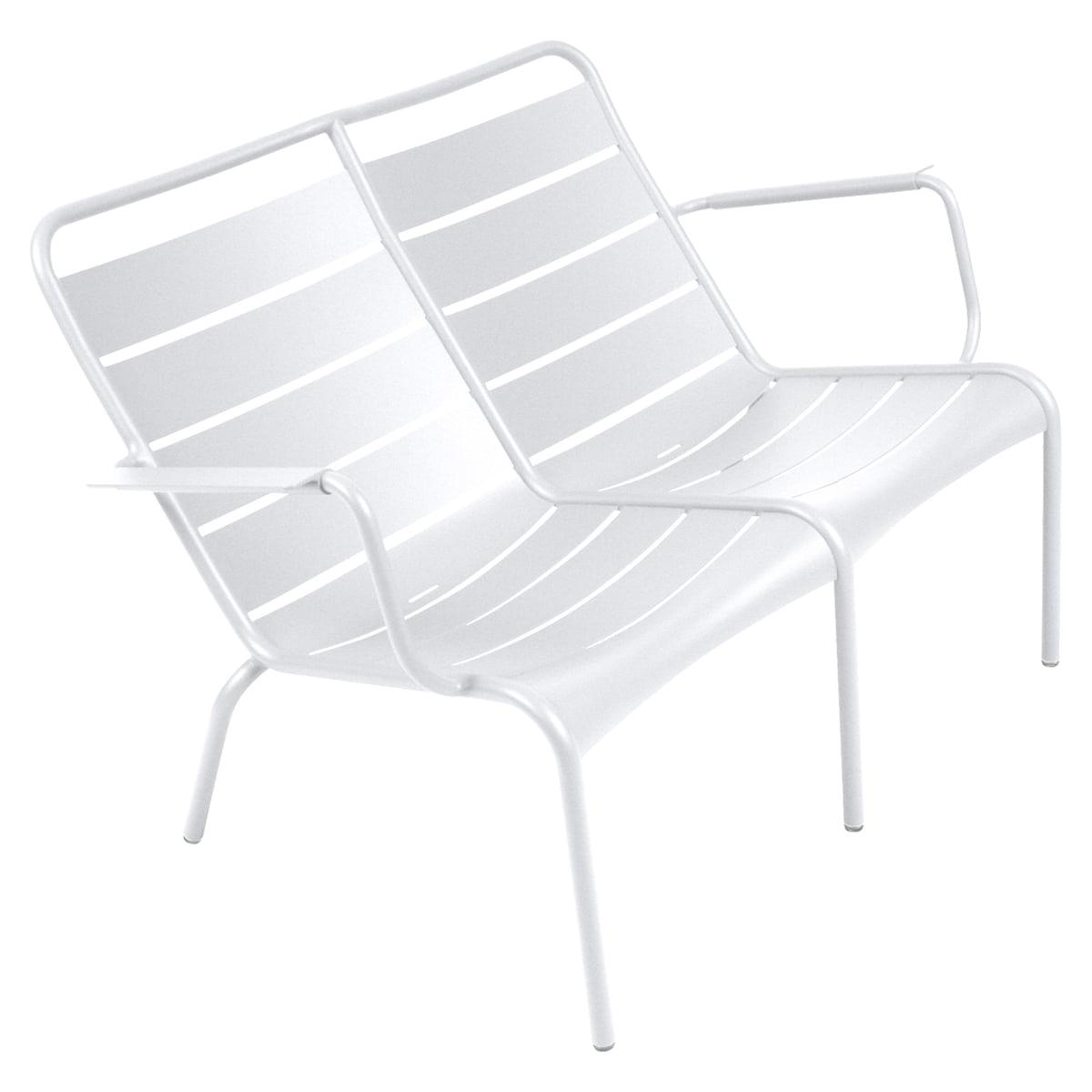 fauteuil deux places luxembourg de fermob. Black Bedroom Furniture Sets. Home Design Ideas
