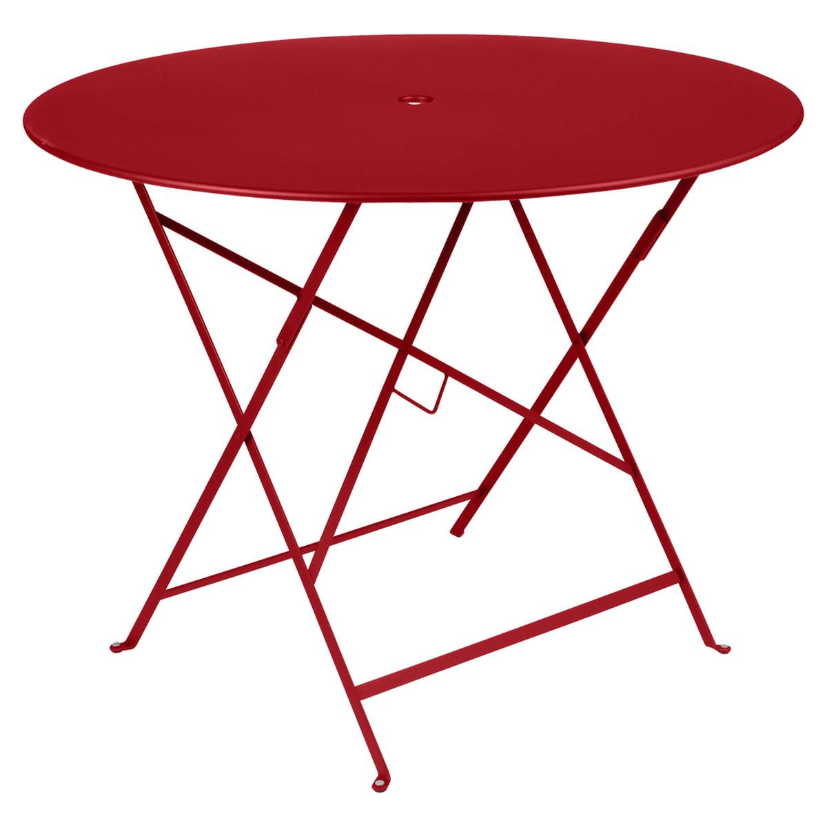 Pliante 96 Fermob Coton CmBlanc BistroRondØ Table OkliPuwTXZ