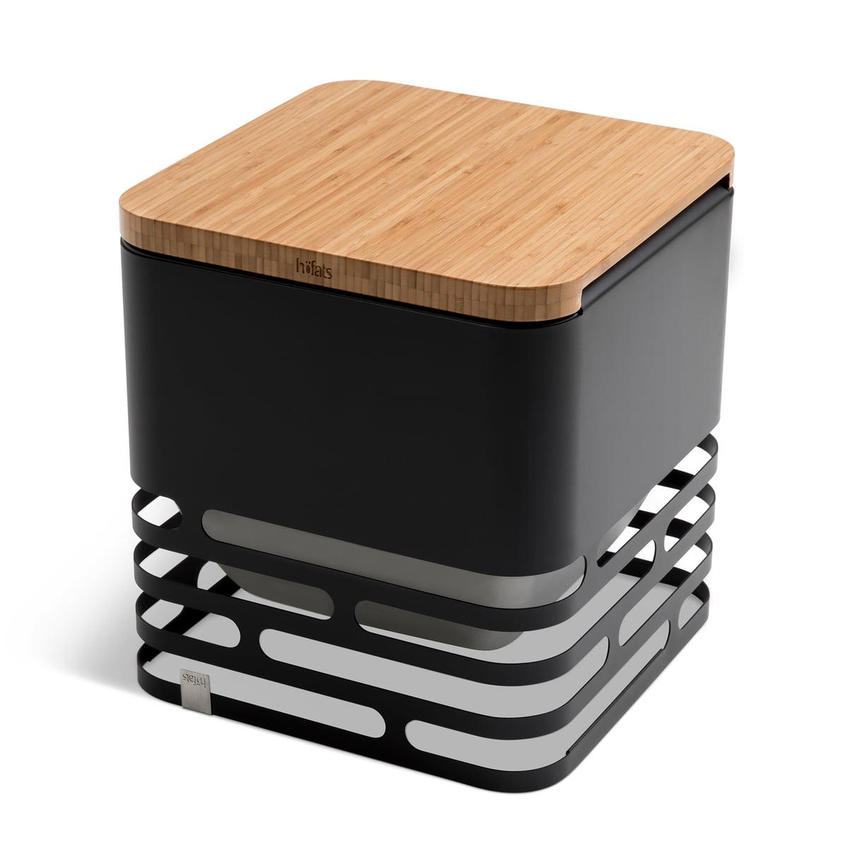 Brasero Maison Du Monde höfats - brasero cube