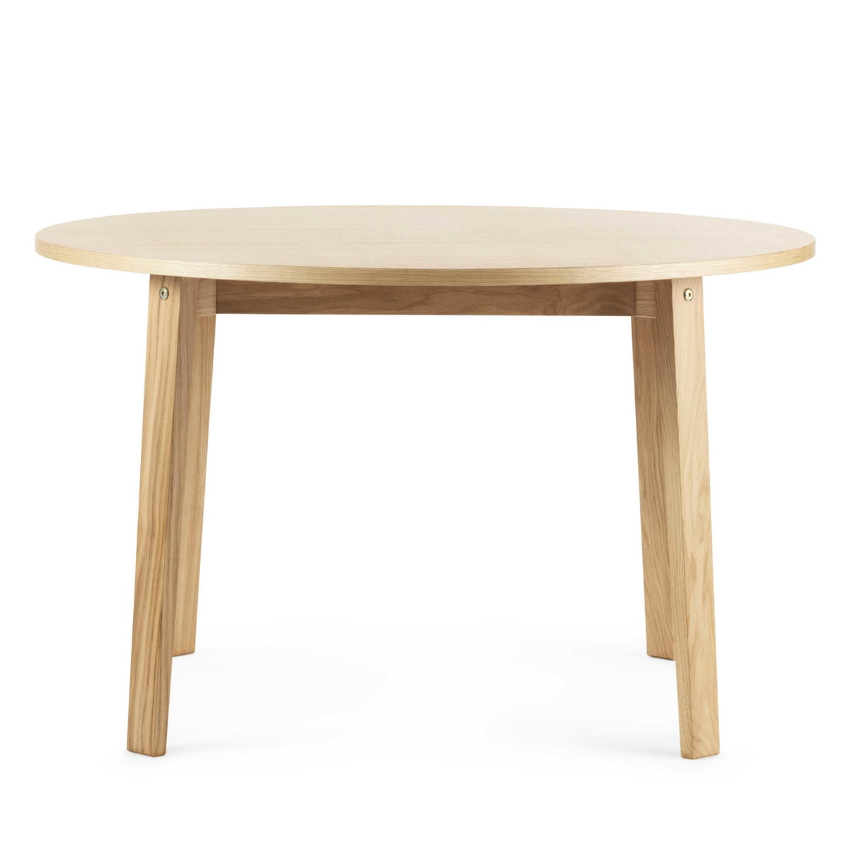 Slice Table Wood Circulaire De Normann Copenhagen