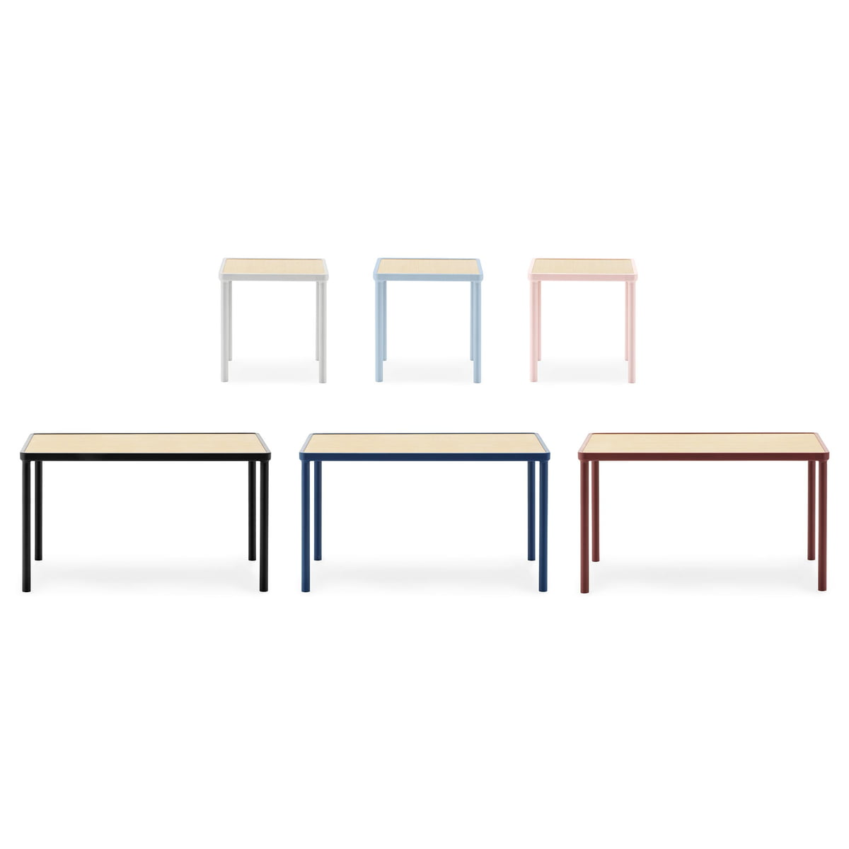 Table basse Case petit format 40 x 40 cm de Normann Copenhagen -> Table Basse Haute Et Petit Format