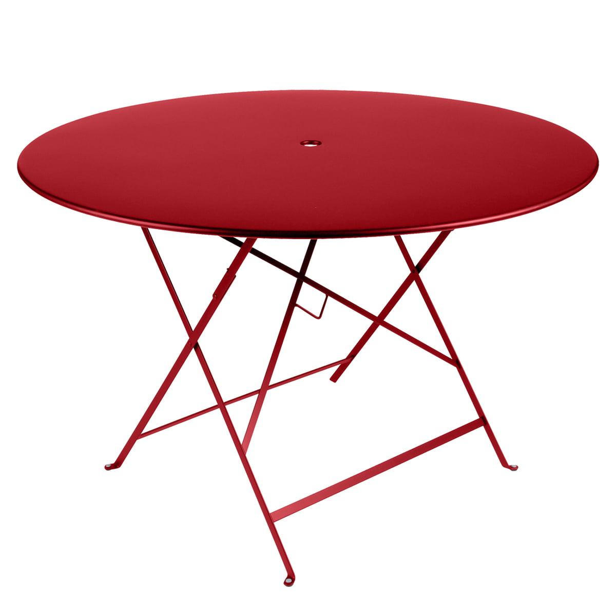 La Table Pliante Ø 117 cm par Fermob