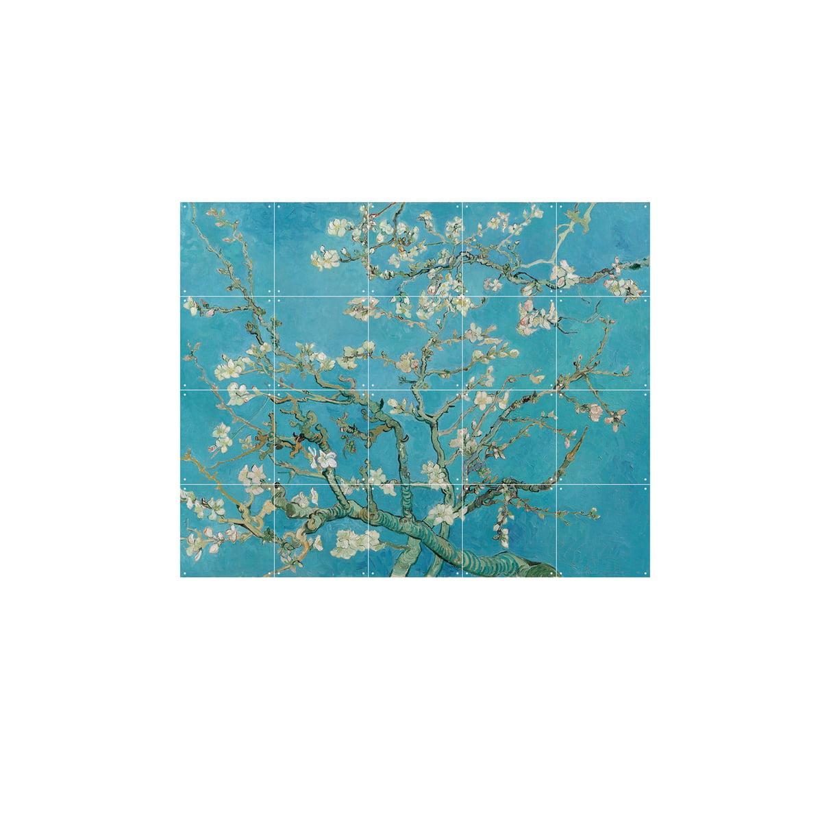 amandier en fleurs van gogh de ixxi. Black Bedroom Furniture Sets. Home Design Ideas
