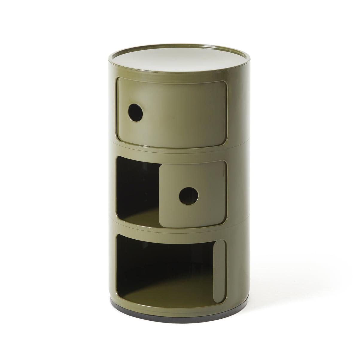 D couvrez le componibili 4967 de kartell - Table de chevet kartell ...