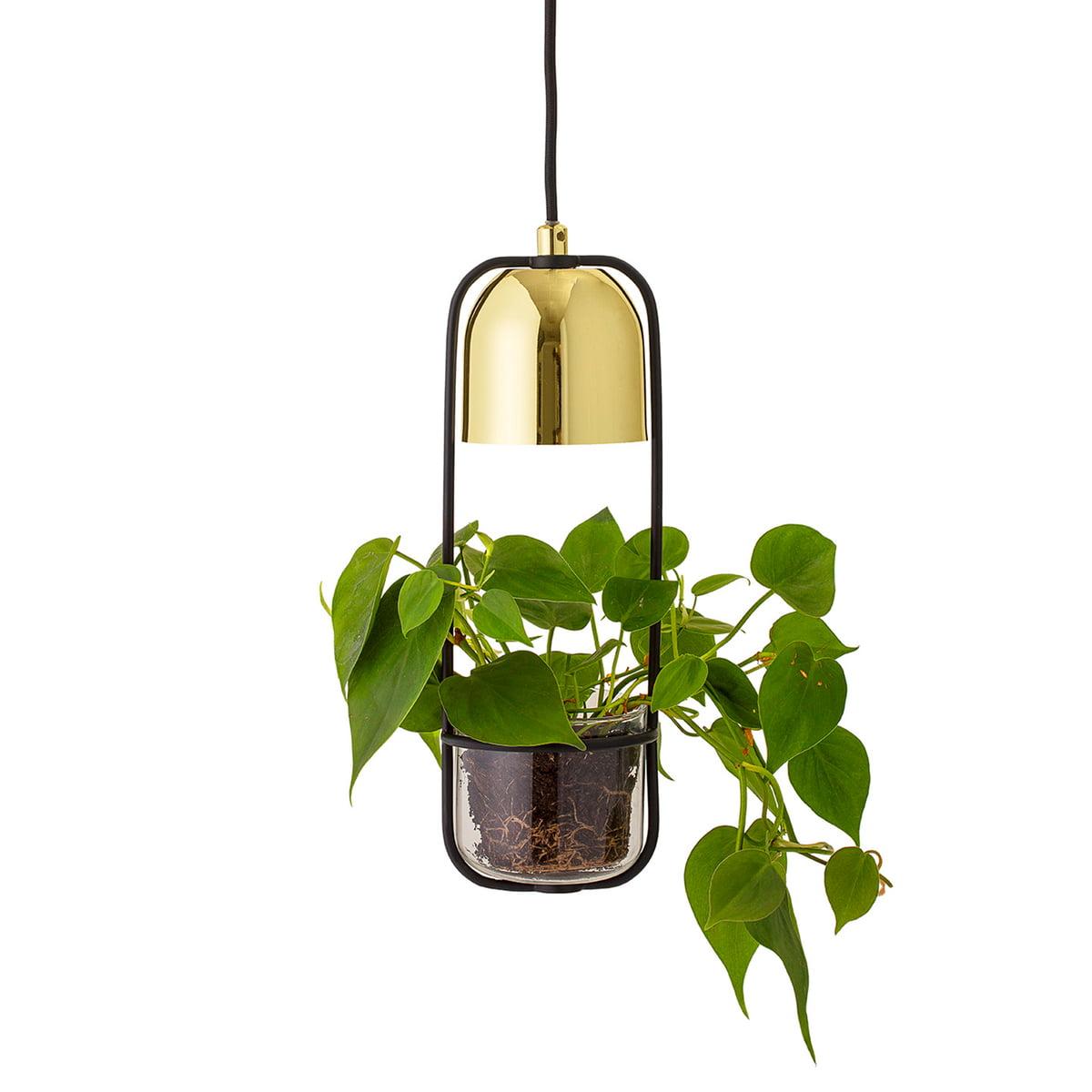 lampe pot de fleurs de bloomingville connox. Black Bedroom Furniture Sets. Home Design Ideas