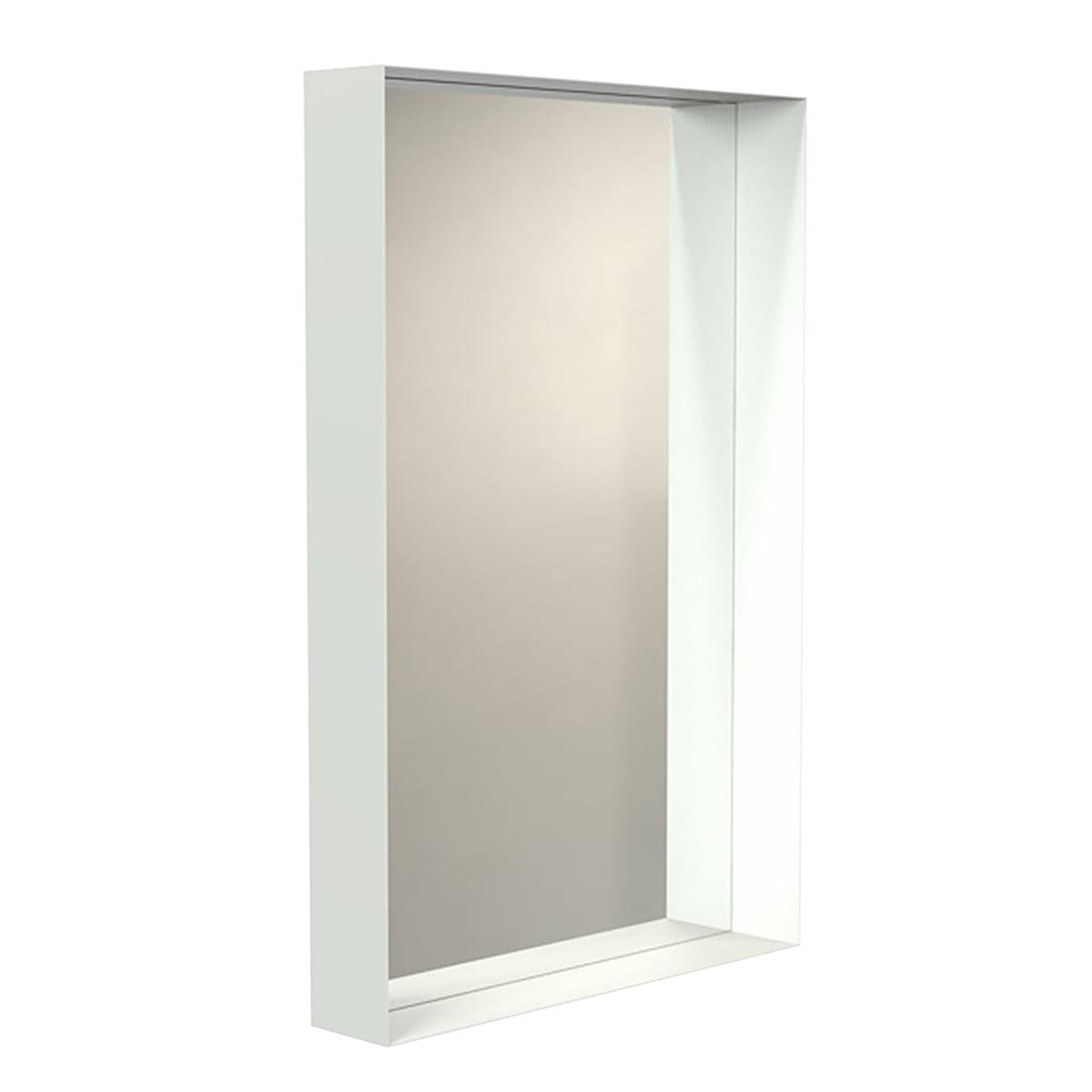 Miroir mural unu avec cadre de frost connox for Miroir mural sans cadre