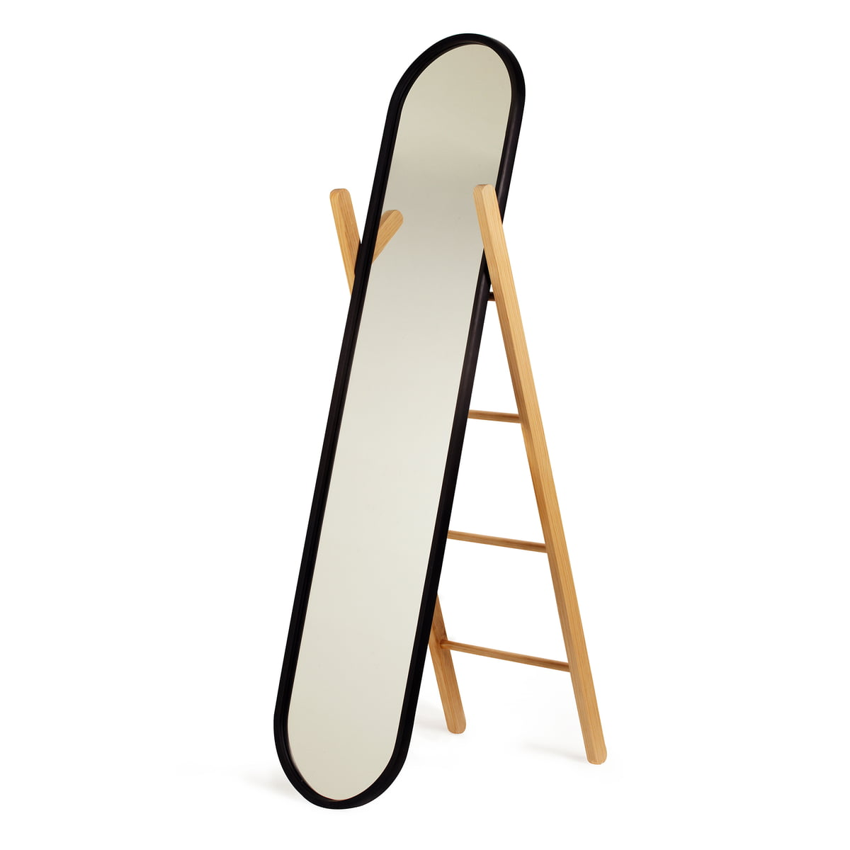Miroir sur pied hub d umbra connox - Miroir ovale sur pied ...