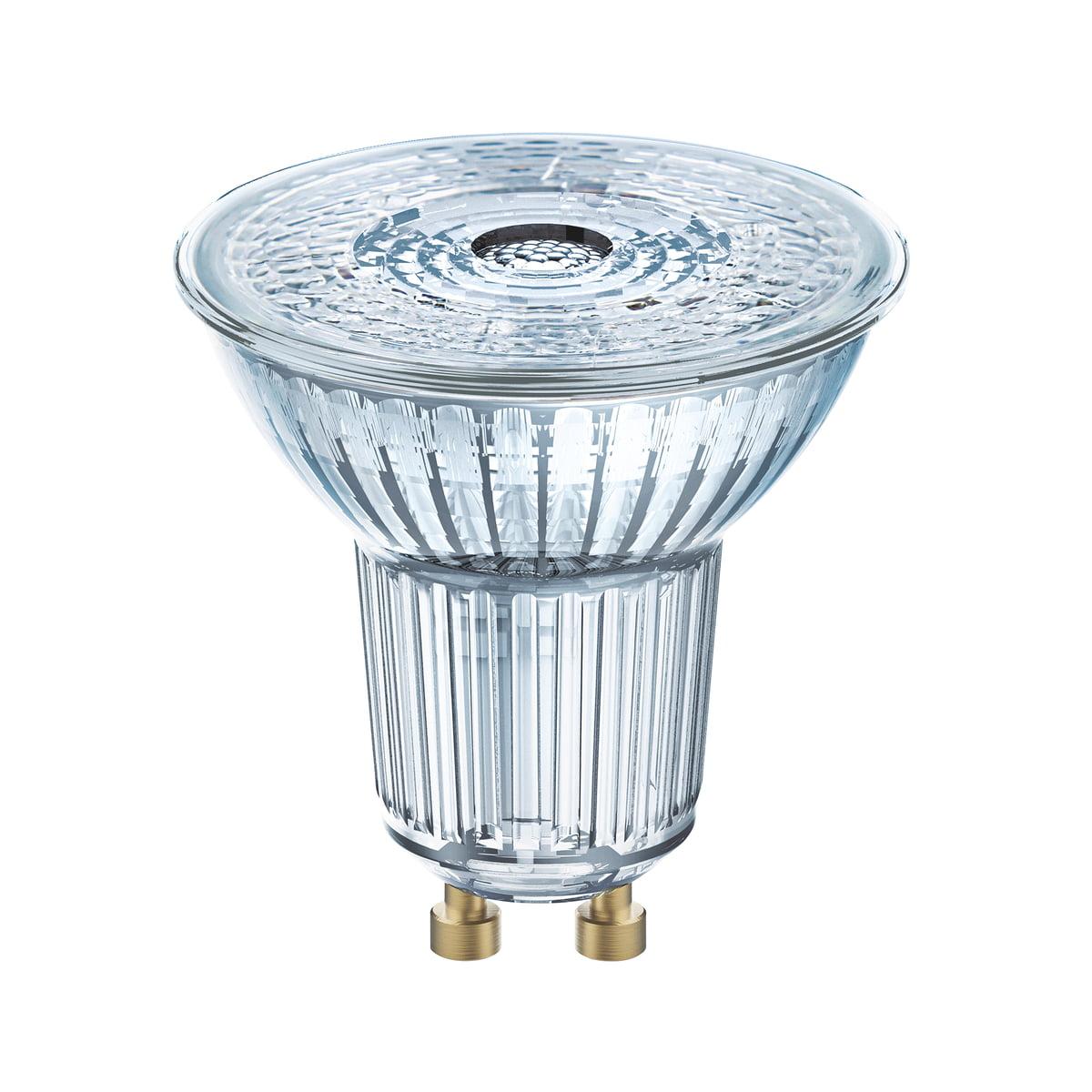 Réflecteur Star Osram LmTransparent WBlanc Ampoule 3 À Par16 4 2700 Chaud K350 5036°LedGu10 Yfgyb76