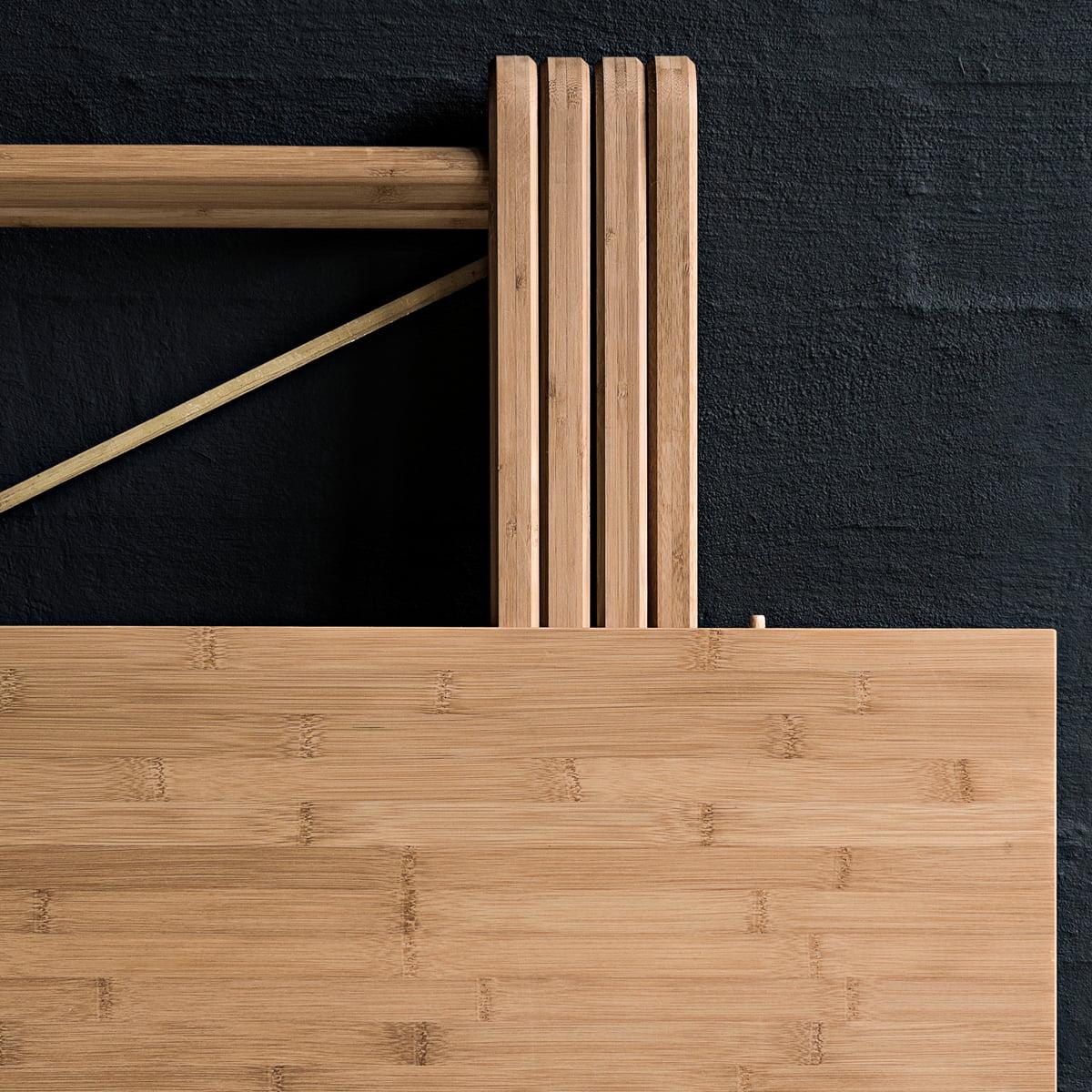 table pliante field de we do wood connox. Black Bedroom Furniture Sets. Home Design Ideas