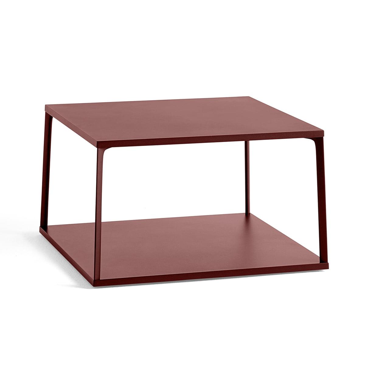 La table basse hay eiffel 65 x 65 cm brique