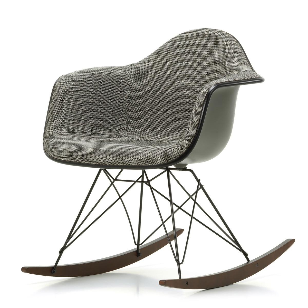 eames fauteuil Eames Fauteuil en plastique RAR by Vitra en érable foncé - laqué époxy  basique foncé -