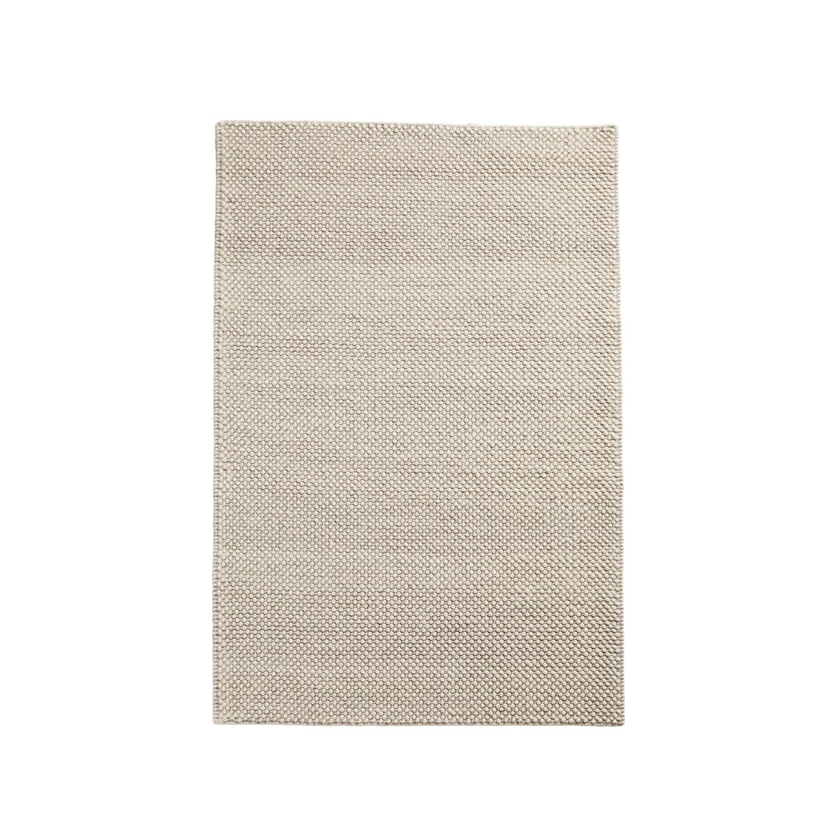 Tapis Long Poil Blanc woud - tapis à poils, 90 x 140 cm, blanc cassé