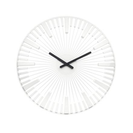 Koziol - Horloge murale Piano, blanche