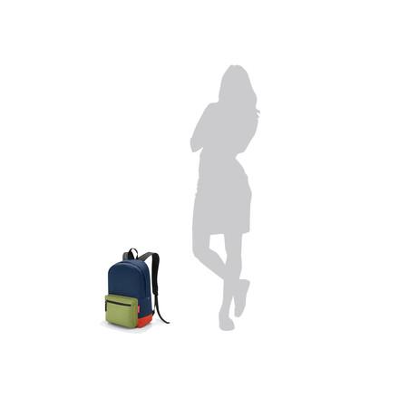 Dimensions à l'échelle du sac à dos rucksack2