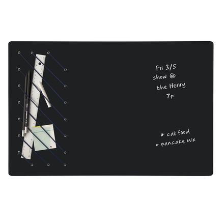 Tableau noir pour écrire et ranger