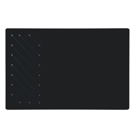 Tableau noir rectangulaire de ThreeByThree