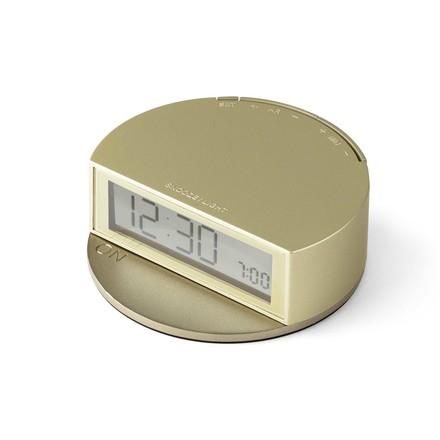 Fine Clock de Lexon en doré