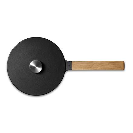 Casserole professionnelle avec manche en bois, 1,7l de Morsø