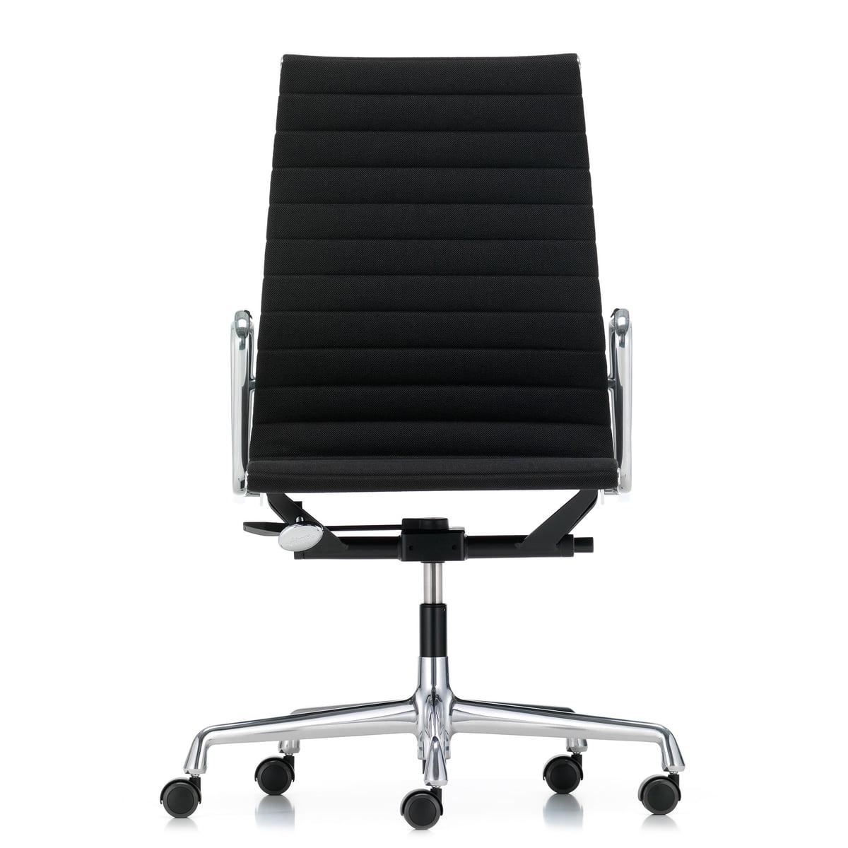 aluminium chair group ea 119 chaise de bureau vitra. Black Bedroom Furniture Sets. Home Design Ideas