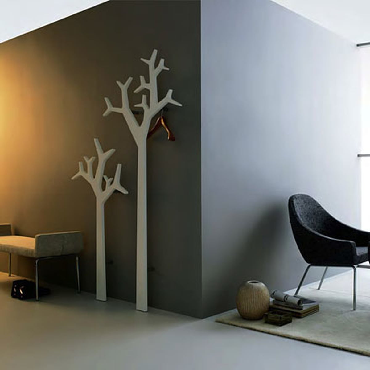 swedese tree porte manteau mural. Black Bedroom Furniture Sets. Home Design Ideas